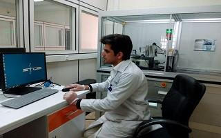 ارایه خدمات آزمایشگاهی پراش پرتو ایکس در آزمایشگاه مرکزی دانشگاه لرستان