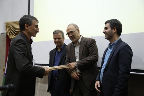 تقدیر از پژوهشگاه پلیمر و پتروشیمی ایران