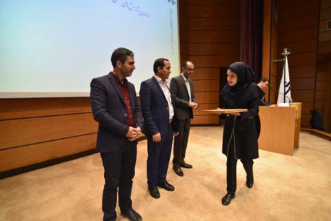 زینب اصغری، رابط سازمان پژوهشهای علمی و صنعتی ایران
