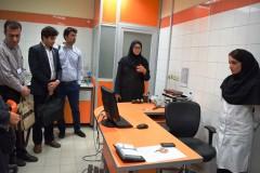 بازدید از آزمایشگاههای جامع تحقیقاتی و آزمایشگاههای دانشکده داروسازی