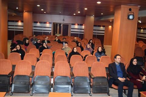 سالن همایش و حاضرین در نشست
