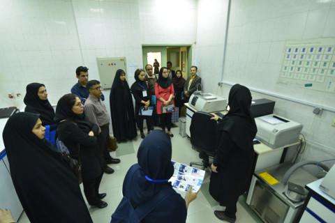 بازدید از مجموعه آزمایشگاههای پژوهشگاه شیمی و مهندسی شیمی ایران