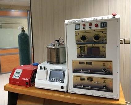 راهاندازی سیستم اسپاترینگ مگنترونی آزمایشگاه مرکزی دانشگاه شهید چمران اهواز