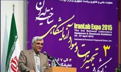 دکتر فرهادی: توسعه پژوهشی کشور با تجهیزات آزمایشگاهی ساخت داخل