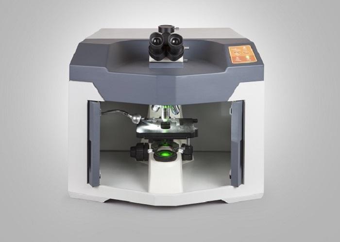 شناسایی سنگ قیمتی با میکروسکوپ رامان ساخت داخل